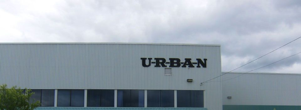 Urban lettering sign